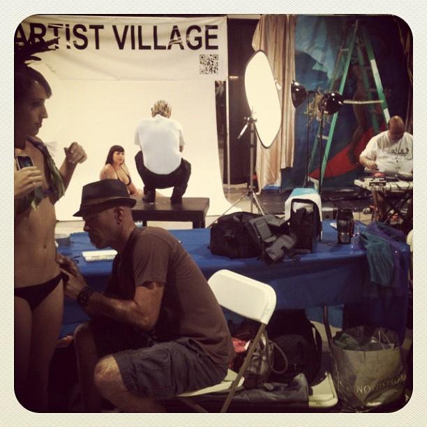 Artist Village - Day 1