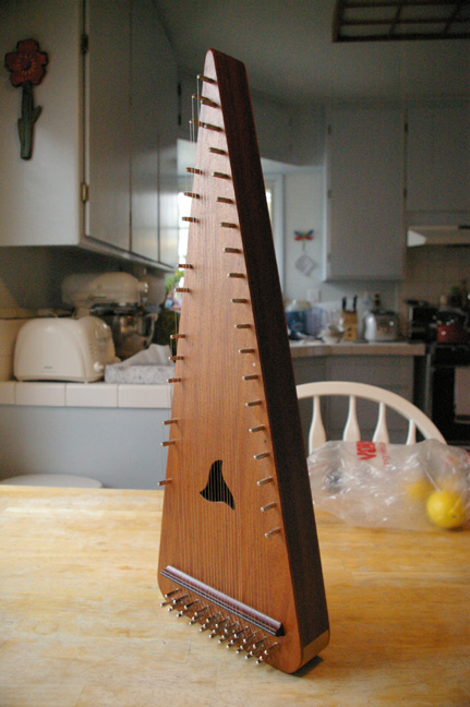 Bowed Psaltery Custom Made by James Jones