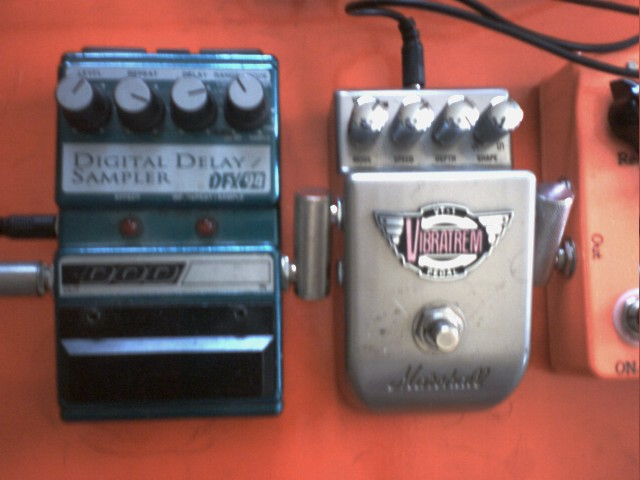 DOD Delay & The Marshall Vibrotrem