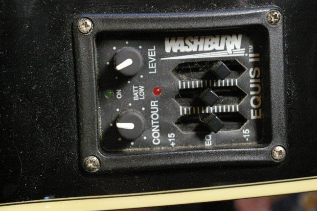 Washburn Fretless Acoustic Bass