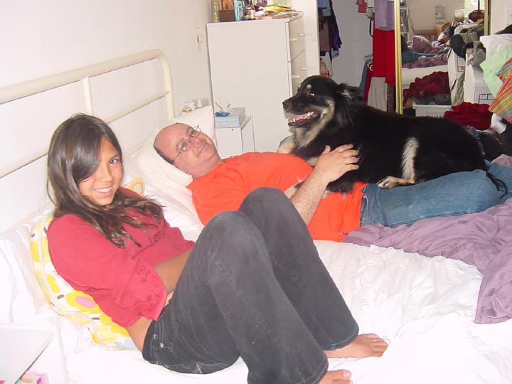 Lauren, Sander, and Kapu